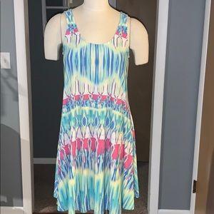 Tie dye Boston Proper women's dress small